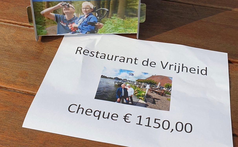 Afscheid De Vrijheid: € 1150,- voor Ronald McDonaldhoeve - Grouster
