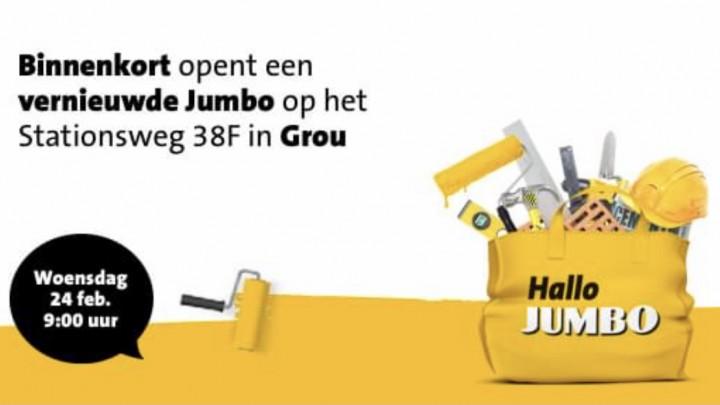 Jumbo Grou wordt groter en krijgt nieuwe indeling