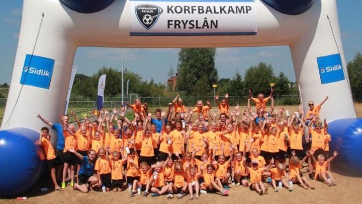 4e editie Korfbalkamp Fryslân bij KV Mid-Fryslân
