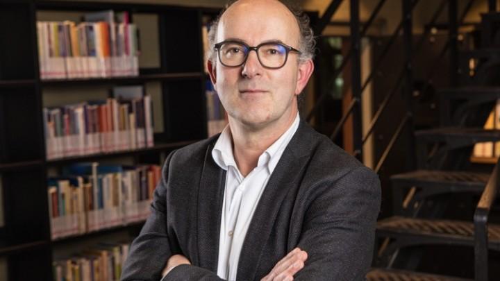 Peter van den Broek. (Foto: Bibliotheken Noord Fryslân)