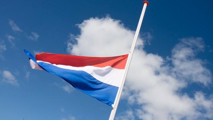 Wegens windstoten vandaag geen vlag halfstok