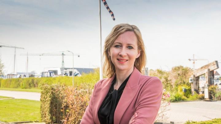 Christina Draaisma kreeg het ondernemerschap met de paplepel ingegoten.