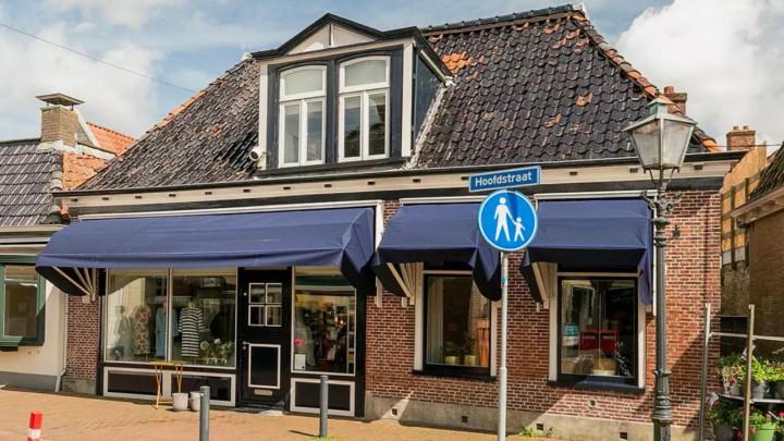 Hoofdstraat 24 in Grou. (Foto: Barteld Makelaar & Adviseur)