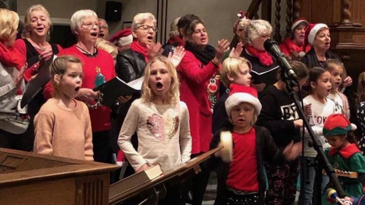 De Kerst Sing In (traditioneel op 23 december) kan in 2021 hopelijk wel weer worden gehouden.