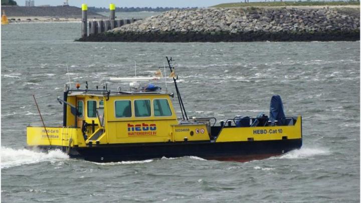 De Emergency Response vessel van Hebo Maritiemservice. (Foto: Hebo)